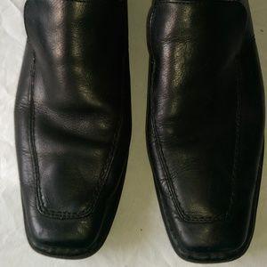 Guess men's leather dress shoes black 11